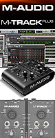 M-Audio(���ࡦ�����ǥ���) / M-Track Plus ��PRO TOOLS EXPRESSƱ���ۥ����ǥ������󥿡��ե����� -