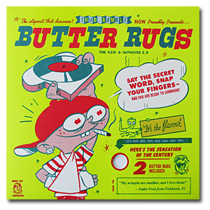 Thud Rumble / Butter Rugs Version 2 [White] [Slipmat ] - スリップマット -