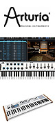Arturia(アートリア) / KEYLAB 61- 61鍵MIDIキーボード 【ANALOG LAB ソフト付属】 ■限定セット内容■→ 【・イヤープロテクター 】