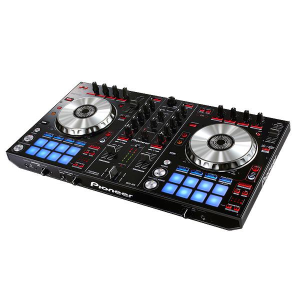 Pioneer(パイオニア) / DDJ-SR  【Serto DJ 無償】 PCDJコントローラー ■限定セット内容■→ 【・ヘッドホン(OV-X8) ・金メッキ高級接続ケーブル 3M 1ペア ・ミックスCD作成KIT ・教則DVD ・10分で理解DJ教則動画】