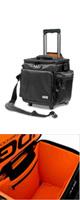 Ultimate SlingBag Trolley Deluxa Black/Orange (U9981BL/OR) - スリングバッグトロリーデラックス / レコードバッグ -