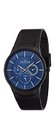Skagen(����������) / BLACK �� BLUE MULTIFUNCTION WATCH (Men's/809XLTBN) - �ӻ��� -