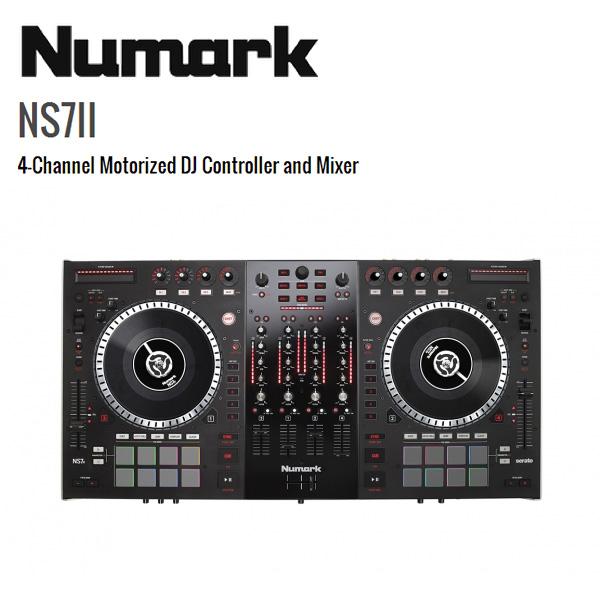 Numark(ヌマーク) / NS7II 【Serato DJ無償】 - 4チャンネルPCDJコントローラー -