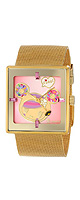 Tokidoki(�ȥ��ɥ�) / Donutella Gold Stainless Steel Mesh Watch (Women's / TDW303SGOLD) - �ӻ��� -