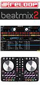 Reloop(リループ) / BEATMIX 2 【Serato DJ Intro対応】 PCDJコントローラー- ■限定セット内容■→ 【・ヘッドホン(・OV-X8) ・教則DVD ・金メッキ高級接続ケーブル 3M 1ペア 】