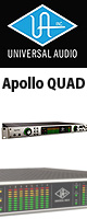 Universal Audio(��˥С����륪���ǥ���) / Apollo QUAD / TB2 -�����ǥ����������ե����� -  -�ڥץ饰����̵�������ڡ���3��31����Ͽ�ޤǡۡ������ꥻ�å����Ƣ������ڡ������Ǿ�饱���֥�2�?��