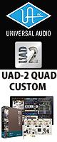 Universal Audio(��˥С����륪���ǥ���) / UAD-2 QUAD CUSTOM - PCIe������ DSP�ץ饰���� -�������ꥻ�å����Ƣ������ڡ��إåɥۥ�(OV-X8)��