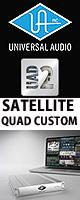 Universal Audio(��˥С����륪���ǥ���) / UAD-2 SATELLITE QUAD CUSTOM - FireWire��³������ DSP�ץ饰���� -�������ꥻ�å����Ƣ������ڡ��إåɥۥ�(OV-X8)��