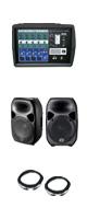 �ڿ��̸����ò���[150W] ��Х��� PA���å� (Titan8 BLK / PMX500 / KL-4FX 5M) ��Wharfedale Pro(��եǡ���ץ�) PA���åȡ�
