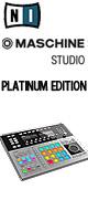 Native Instruments(�ͥ��ƥ��֥��ȥ������) / MASCHINE STUDIO   PLATINUM EDITION �ڿ��̸����ǥ�ۡ������ꥻ�å����Ƣ������ڡ��ߥå���CD����KIT����OA���åס���LS-01����OV-X8 (BLACK)����MS-210J��