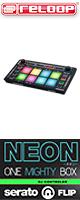 Reloop(��롼��) / NEON -serato DJ �ѥե����ޥѥåɥ���ȥ?�顼- ��serato FLIP�饤������°�۽��������