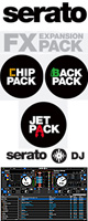 SERATO(���顼��) / FX BUNDLE����Serato DJ���ѥ��ե����ȥѥå��� JET PACK FX / BACK PACK FX / CHIP PACK FX �Х�ɥ�