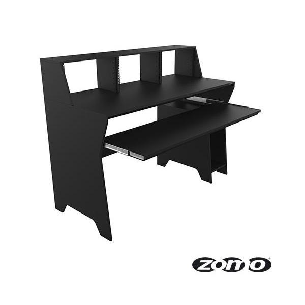 Zomo(ゾモ) / Studio Desk Milano (BLACK) - スタジオワークステーション / DTMデスク / テーブル - 《組立式》 【納期:お問合せ】