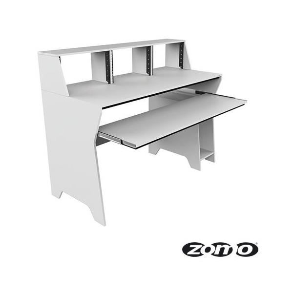 Zomo(ゾモ) / Studio Desk Milano (WHITE) - スタジオワークステーション / DTMデスク / テーブル - 《組立式》 【納期:お問合せ】