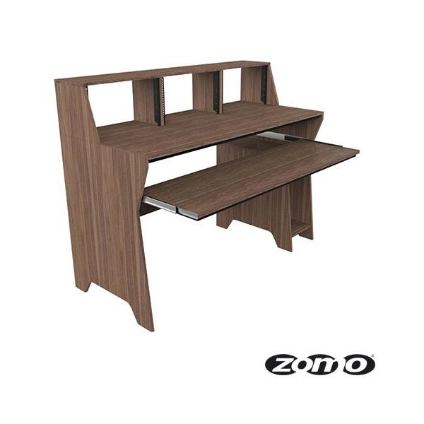 Zomo(ゾモ) / Studio Desk Milano (WALNUT) - スタジオワークステーション / DTMデスク / テーブル - 《組立式》 【納期:お問合せ】