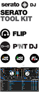 SERATO(���顼��) / Serato Tool Kit ��FLIP / PITCH 'N TIME DJ / FX Pack Bundle �Х�ɥ륭�åȡ�