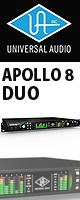 Universal Audio(��˥С����륪���ǥ���) / APOLLO 8 DUO -Thunderbolt��³�����ǥ����������ե����� -  �������ꥻ�å����Ƣ������ڡ������Ǿ�饱���֥�2�?��