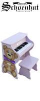 Schoenhut(��������ϥå�) / Piano Pals (Purple/Teddy Bear) - �٥���դ� 25���ȥ��ԥ��� -