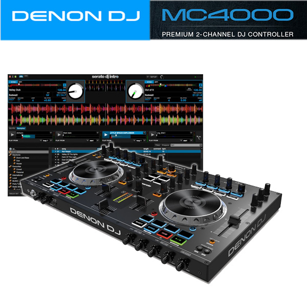 Denon(デノン) / MC4000 PCDJコントローラー 【Serato DJ Intro 無償】