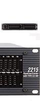 dbx(ディービーエックス ) / 2215 - 2ch 15バンド グラフィックイコライザー - 【Hibino正規2年保証】 ■限定セット内容■→ 【・イヤープロテクター 】