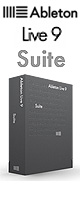 Ableton(エイブルトン) / Live9 Suite 【BOXバージョン】 ■限定セット内容■→ 【・OV-X8】