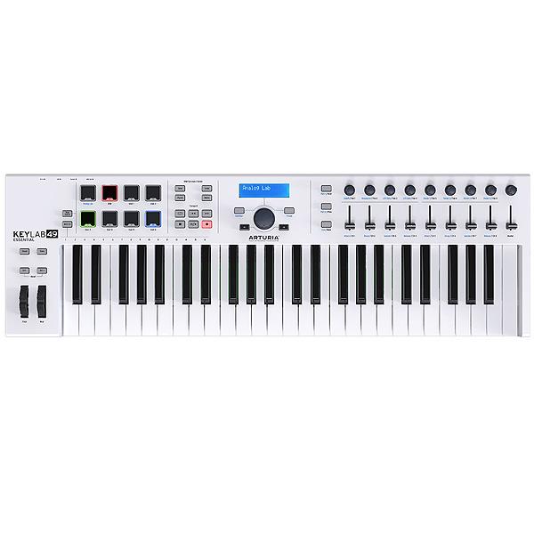 Arturia(アートリア) / KeyLab Essential 49 -49鍵MIDIキーボード -【Analog Lab・Ableton Live Lite付属】