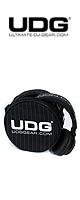 UDG / Headphone Bag / Black/Grey Stripe(U9960 Black/Grey Stripe)
