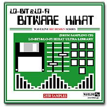 WAVELINEサンプリングCD / BITWARE HIHAT/LO-BIT&LO-FI HIHAT ULTRA LIBRARY [CD]