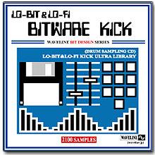 WAVELINEサンプリングCD / BITWARE KICK/LO-BIT&LO-FI KICK ULTRA LIBRARY [CD-R]