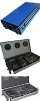 ��B���ʡ�Euro Style(�桼�?������) / DJ coffin Case  flight case (�ե饤�ȥ����� ) Blue (�?���֥롼)��/ Pioneer(�ѥ����˥�)  CDJ-2000/ CDJ-900 / CDJ-850 / CDJ-800 / DENON �� �ǥΥ� ) SC3900 / DN-S3700 2�� �� DJM-900 / DJM-850 / DJM-800 / DJM-750 / DJM-700 /  DJM-400 1�� ��Ǽ�����������������˵��������