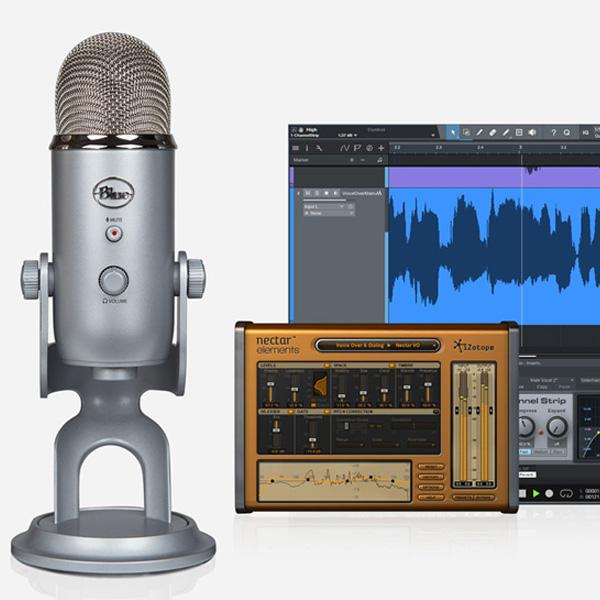 Blue Microphones(ブルーマイクロフォン) / Yeti Studio - ボーカル・レコーディング・USBマイク -