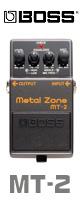 【10倍ポイント】Boss(ボス) / MT-2 Metal Zone 《ギターエフェクター》