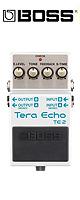 【限定1台3,000円オフ】Boss(ボス) / TE-2 Tera Echo -テラ・エコー- 《ギターエフェクター》 【新感覚空間系!!】『セール』