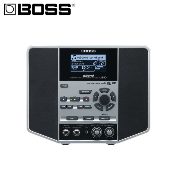 Boss(ボス) / AUDIO PLAYER with GUITAR EFFECTS eBand JS-10 - ギタリスト用オーディオプレイヤー
