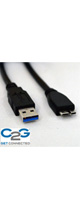 C2G(シーツ—ジー) / バージョン3.0 USBケーブル(1m)