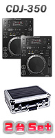 Pioneer(�ѥ����˥�) / CDJ-350 2��ե饤�ȥ��������åȡ������ꥻ�å����Ƣ������ڡ��ߥå���CD����KIT����OA���åס���LaCie ����USB����16GB�ߣ�����
