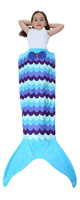 Camlinbo / Mermaid Blanket(波模様) - 人魚の寝袋ブランケット -