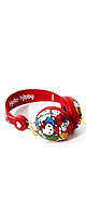 Coloud / Hello Kitty �� �ϥ?���ƥ� �� Headphones (Red Nice)  - �إåɥե��� -