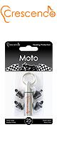 Crescendo(クレシェンド) / Moto (モータースポーツ用)  【イヤープロテクター(高性能耳栓)/遮音レベル:約25dB】