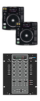 DN-S700 / SMX.311 CDJ���å� ������ץ쥼��Ȣ��������� ����§DVD����DJɬ��CD ��4��ɡ������쥯�ȥ?�ͥ�CD�����ߥå���CD����KIT�������å������³�����֥롡������OA���å� ��