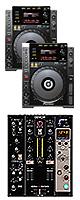 "CDJ-900 / DN-X600 オススメBセット ■限定セット内容■→ 【・教則DVD ・セッティングマニュアル ・金メッキ高級接続ケーブル 3M 1ペア ・OAタップ ・ミックスCD作成KIT ・DN-HP500 ・ネタCD2枚組 ・DJ必需CD 計""5枚""】"
