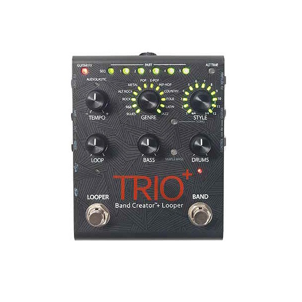 DigiTech(デジテック) / TRIO+ - リズムマシン・ルーパー - 《ギターエフェクター》