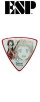 ESP(イーエスピー) /  ESP×バンドリ!Poppin'Party Character Pick BDP Kasumi(AW) -ピック -