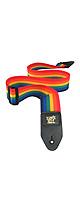 ErnieBall(�����ˡ��ܡ���) / Rainbow Polypro Strap #4044 - ���������ȥ�å� -