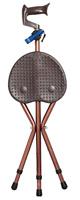 折り畳み歩行杖型椅子【調節可能】 - 折り畳みデスク - FIZZ -
