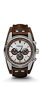 FOSSIL(�ե��å���) / Cuff Chronograph Leather Watch   Tan (Men's/CH2565)  - �ӻ��� -