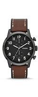 FOSSIL(�ե��å���) / Townsman Chronograph Leather Watch - Brown (Men's/FS4874)  - �ӻ��� -