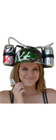 Fairly Odd Novelties / Beer Soda Guzzler Helmet Drinking Party Hat (Camouflage) - ビールハット・ドリンキングハット -