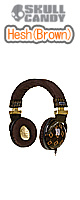 Skullcandy(�X�J���L�����f�B) / Hesh (Brown)