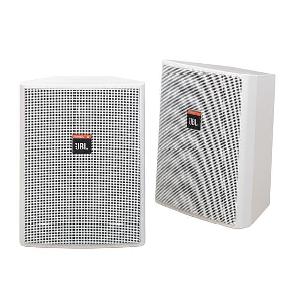JBL(ジェービーエル) / Control 25-WH  (ペア)  [正規輸入品] - 全天候型スピーカー(1ペア販売) 壁掛けタイプ -